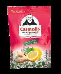 Carmolis Inkivääri Kurkkukaramelli 75 g